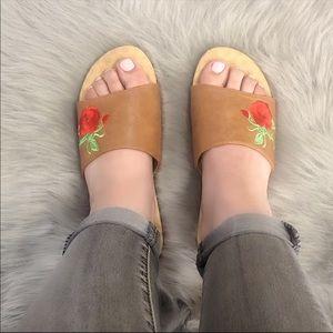 Shoes - Camel Slides/Sandals Very Comfortable